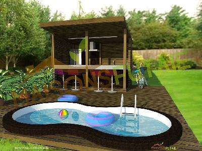 POOL HOUSE PSC-HOUSE 7.1
