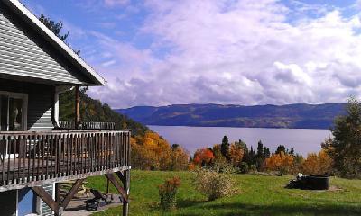 Splendide Panorama Fjord Saguenay