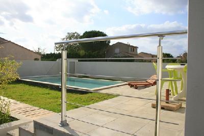 villa piscine 6/8 pers proche Montpellier/Palavas