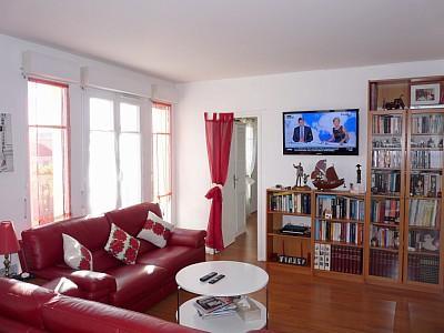 Appartement de 72m2, F4 avec terrasse