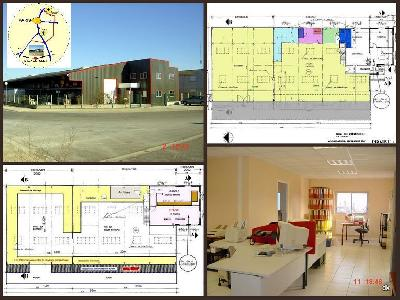 Local Industriel - 150m²Bureau & Atelier/entrepôt/stockage aménagé