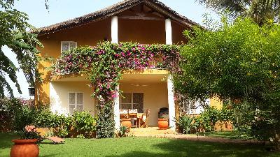 Loue à Saly spacieuse villa type africaine 8 pers bord de mer