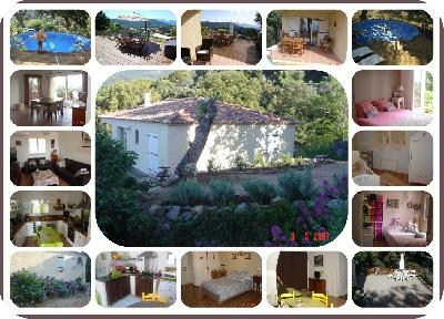 Villa T4 +T2 vue somptueuse - PISCINE - terrain 1400 m2