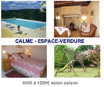 PERIGORD maison de caractére 6per+ piscine privée 12x6m