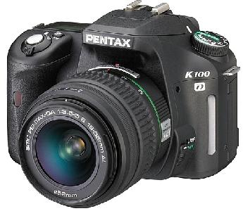 Pentax K100d super avec un flash