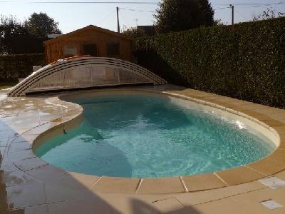 Location vacances maison avec piscine chauffée et privée
