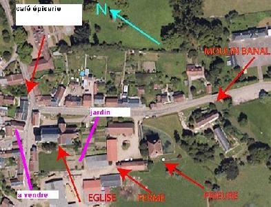 maison de campagne en région Bourgogne (morvan)