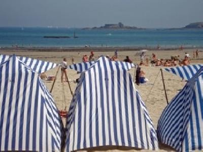Vacance à Dinard au bord des plages de sables fins