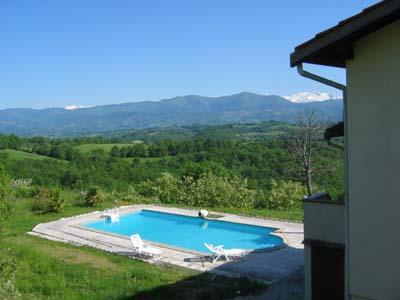 Location vacances grande villa en Pyrénées - piscine