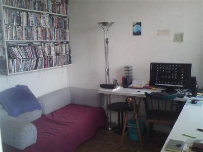paris 75012 studio meublé 20m2 à louer du 01-08-12 au 30-09-12 630E/mois