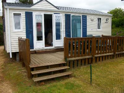 Location mobil home camping***cote de granite rose