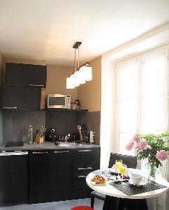 Appartement studio 24 m² au sol.