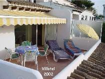 endroit charmant à Moraira Costa Blanca Espagne