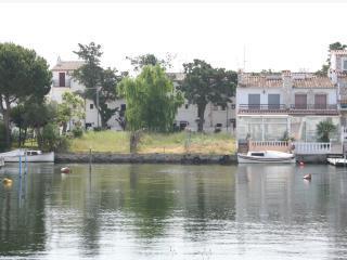 Espagne terrain avec amarrage pour bateau