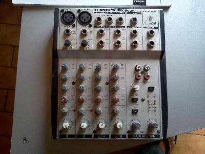 Table de mixage behringer eurorack mx 602A