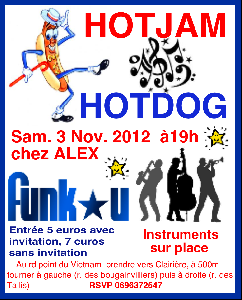 Grande Soiree HOT JAM/ HOT DOG