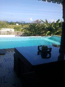 Belle villa en bord de mer piscine à débordement