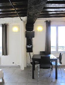 Appartement studio  -  32 m² au sol sur paris 1er.