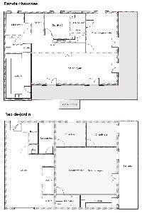 Vauclin : Belle maison T5 + T3 Bis en bas de villa
