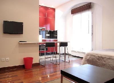Location studio meuble sur Paris 16eme