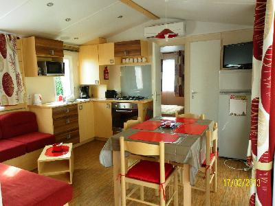 loue mobil home valras plage