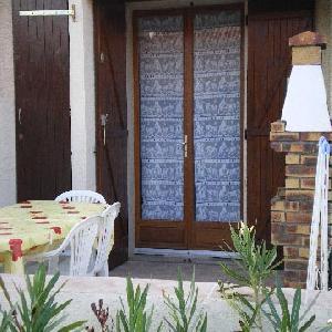 bordure mer villa terrasse barbecue 50mplage 4/5pers port leucate
