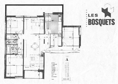 Toulouse vend T5 lumineux de 100 m2 traversant avec grand balcons