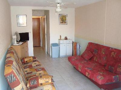 Location Cap d'Agde appartement 4 couchages