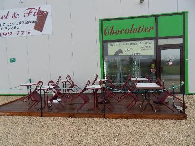 Pâtisserie chocolaterie en plein coeur de Tours