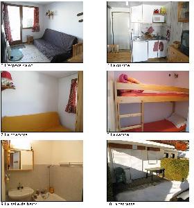 Appartement T2 dans chalet à praz sur arly