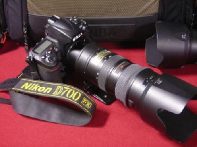 Nikon D700 +24-70mm +grip MB-D10