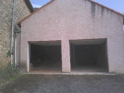Maison de caractère + grand garage + terrain