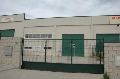 Local industriel entrepôt à un parc logistique de Saragosse