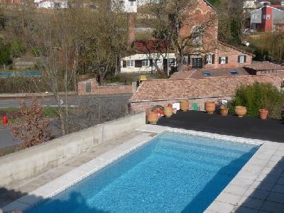 villa t4 avec piscine proche de toulouse