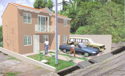 Terrain constructible avec permis de construire