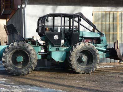 tracteur forestier occasion particulier