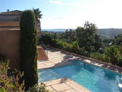 Appartement dans résidence avec piscine à Sainte Maxime pour 4 personnes