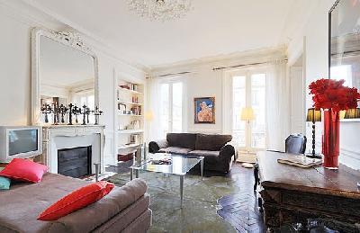 Appartement 3 pièce(s) 2 chambre(s) Rue Du Temple