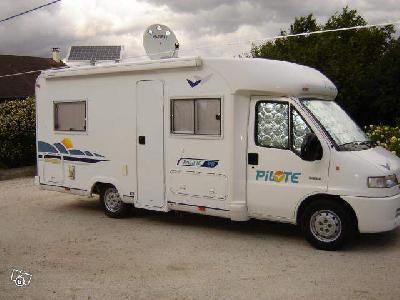 camping car pilote p8 sur porteur citroen 2 8 hdi annonces gratuites camping car. Black Bedroom Furniture Sets. Home Design Ideas