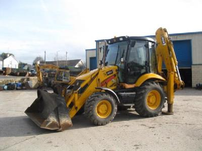 2006 JCB 3CX Contractor Plus tracto-pelle