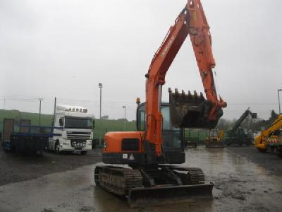 2008 Doosan  DX80R mini pelle
