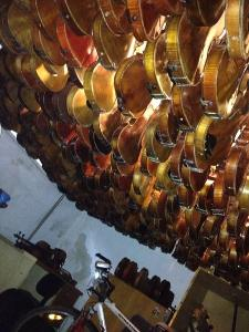 Collection de violons anciens