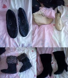LOT CHAUSSURES FEMME