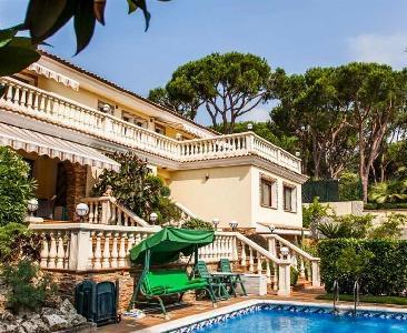 villa de luxe cala sant francesc 10 personnes blanes espagne annonce immo location. Black Bedroom Furniture Sets. Home Design Ideas