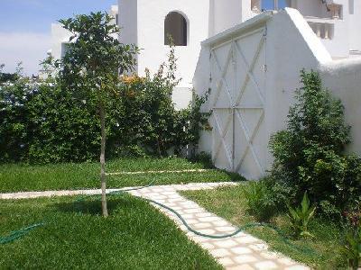 LOCATION HIVERNALE, ESTIVALE VILLA DE CHARME MEUBLEE A HAMMAMET/ TUNISIE