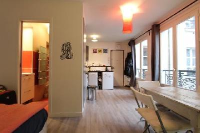 Studio 23 m² meublé à Montmartre près du Sacré Cœur à Paris