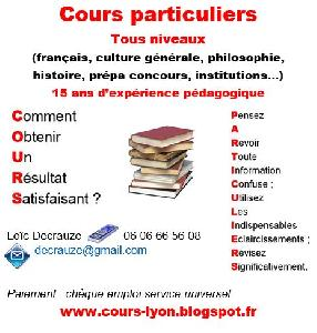Cours sciences humaines