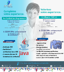 Formation Certification PHP 5.5/ Formation Certification Java 6