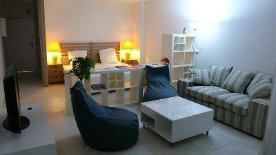 Grand studio meublé - Saint Martin