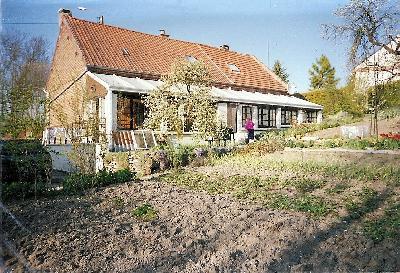 Maison de village orientée plein sud